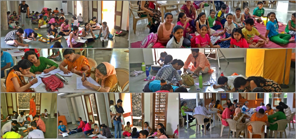 Drawing and Essay Competition at ParamDham