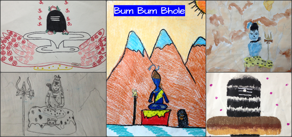 Drawing Competition winners...(Kids)